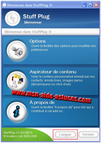 Mettre StuffPlug en Français Stufplug2fr