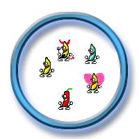 Pack 96 Smileys Animés -> Banane Exemplebanane