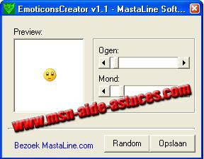 Emoticones Créator : créer vous même vos smileys Emoticonscreator