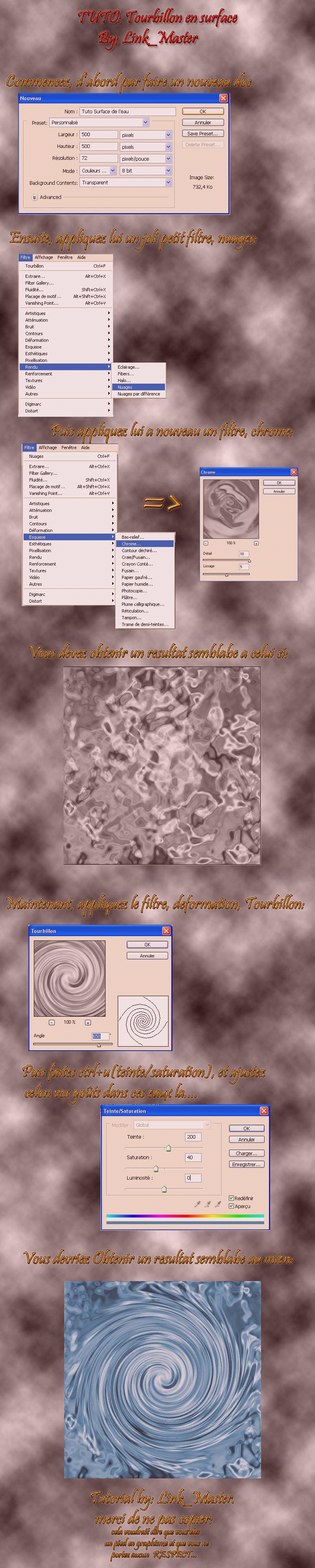 [Tuto]Tourbillon en surface TUTO1