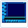 Prévisualisation : 43 Themes Windows Media Player Bluegrid
