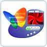 Prévisualisation : 43 Themes Windows Media Player Msn