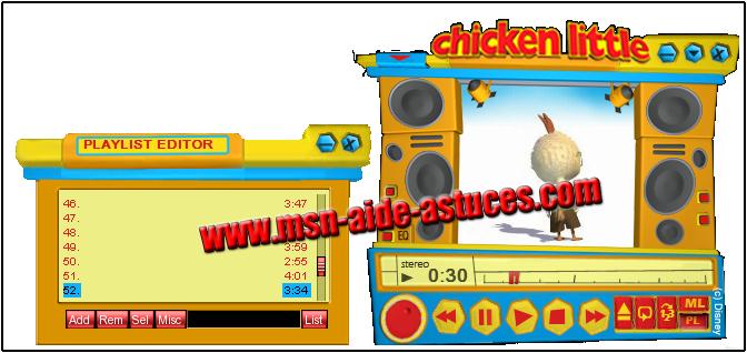 Theme Chicken Little Chickenlittle